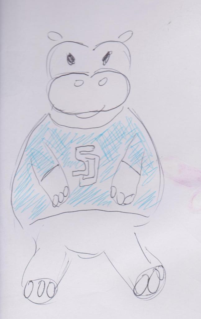 Hippo t-shirt 001
