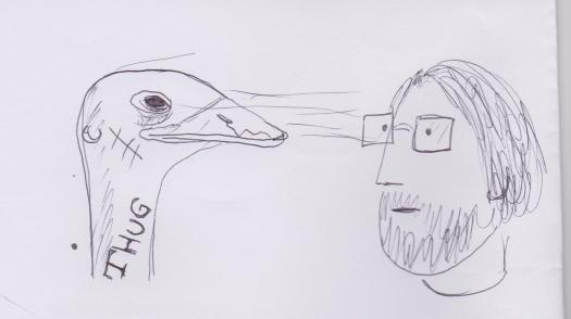 Owen and ostrich 001